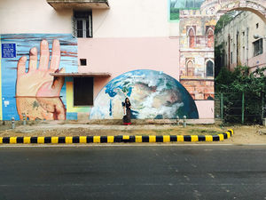 The most colorful & Instagram-worthy streets of Delhi - Lodhi Art District