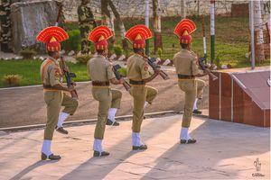 Saqdi, Indo-Pak Border Punjab - A day trip to retreat ceremony