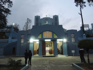 The Famous Catholic Church At Shillong!
