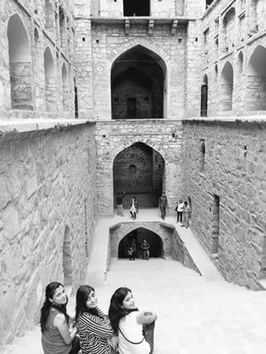 The Haunted Agrasen ki Baoli at New Delhi!