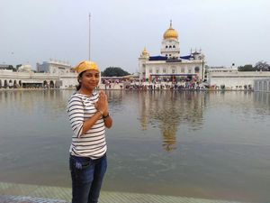 The Famous Bangla Sahib Gurudwara at New Delhi!