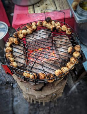 When in Patna,dont forget to try this special dish! #streetfood