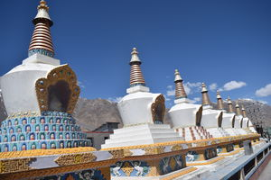 The Eight Buddhist Stupas of Kaza!