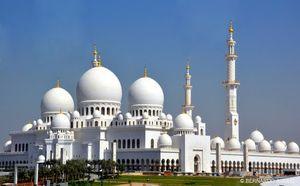 Grand Mosque - Abu Dhabi - United Arab Emirates 1/3 by Tripoto