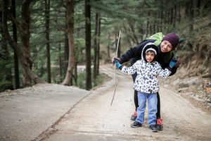 A Backpacking adventure with my Toddler