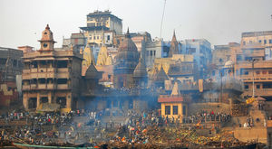 Manikarnika - The Burning Ghat, Varanasi