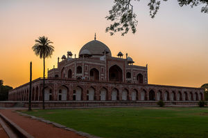 Weekend visit to Humayun's Tomb - New Delhi