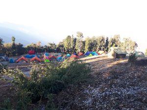New Year eve   Nag Tibba trekking and camping