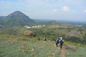 Day trek to Channagiri Hills near Nandi Hills | Bangalore