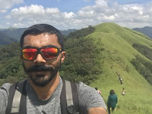The beauty of Western Ghats can be paralleled by Western Ghats alone.  #SelfieWithAView #Tripoto