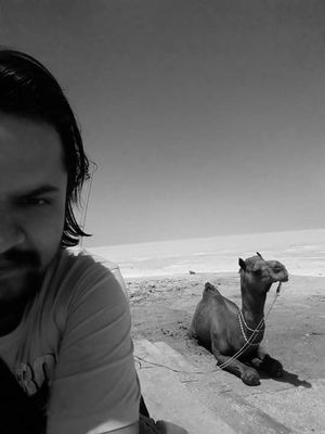 Camel sir! Aren't you upping the selfie game tho #SelfieWithAView #TripotoCommunity