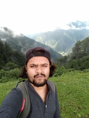 The first of the solo treks #SelfieWithAView #TripotoCommunity