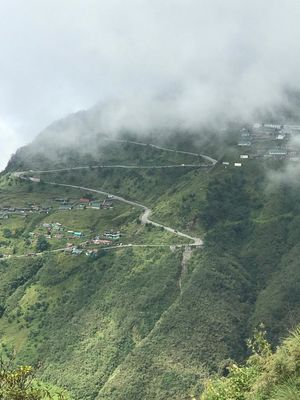 Way to Nathula pass- Silk route