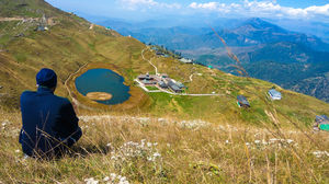 Prashar Lake Trek.. A perfect place to breathe in tranquil nature..