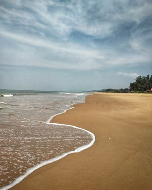 Is it a beach? Is it a hill? No! It's Gokarna! #gokarnainphotos