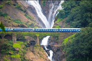Dudhsagar Waterfalls - A memorable Trek