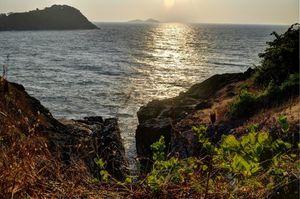 Island getaway in Arabian sea-Kurumgad