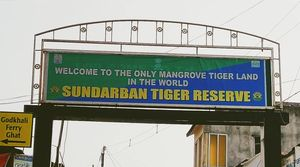 "Sundarban ""World's largest Mangrove tree forest and home of our national animal Tiger"""