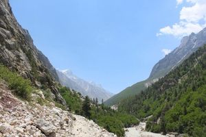 Gangotri and Gomukh