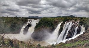 Just 150kms from Bengaluru to this mighty waterfalls