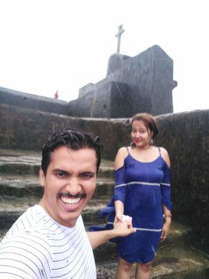 Nani daman fort. #SelfieWithAView #TripotoCommunity