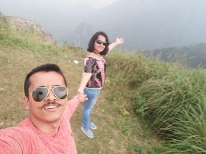 At Munnar Hill point. #SelfieWithAView #TripotoCommunity