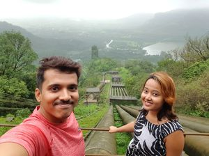 At tata power house, Tamhini ghat. #SelfieWithAView #TripotoCommunity