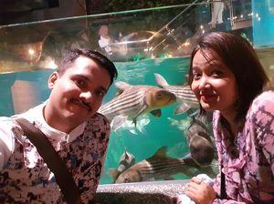 At Aquaria klcc, kuala lumpur. #SelfieWithAView #TripotoCommunity
