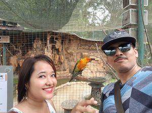 At Kl bird park, Kuala lumpur. #SelfieWithAView #TripotoCommunity