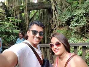 At Monkey forest Sanctuary, Bali. #SelfieWithAView #TripotoCommunity