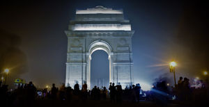 THE LUTYENS ARC – INDIA GATE