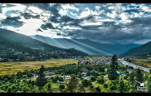 Picturesque Bhutan!!!