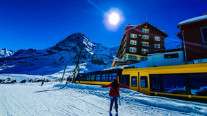 MY WINTER WONDERLAND -SWITZERLAND: INTERLAKEN,GRINDELWALD,KLEINE SCHEIDEGG AND JUNGFRAU REGION