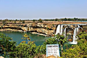 Chitrakot Waterfalls - The Indian Niagara
