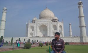 12 Months 12 Trips - February - Surprise friends Reunion at Delhi - Agra - Mathura
