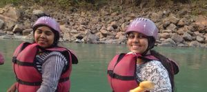 White water rafting @ Rishikesh