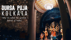 Why DURGA PUJA in Kolkata is Called The Biggest Festival of India? - A Cinematic Video