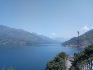 The less known Beauty of Nature... The New Tehri Town.