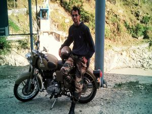 A Ride of 1500 kms. My first solo journey.