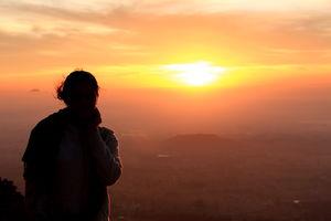 Sunrise at horaginabetta