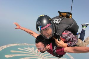 SKY is never the Limit: My First Tandem Skydiving Experience in Dubai
