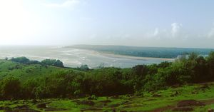 Beautiful view from Chapora Fort.