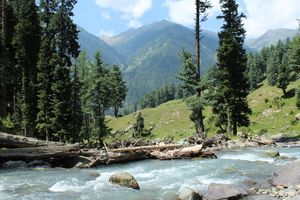Pahalgam, a peaceful place in controversial Kashmir