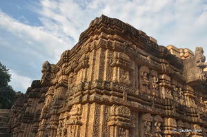 Konark temple, an ancient design of passion on rock