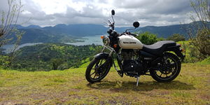 "360 KMS Ride to PUNE'S own ""Valley of Flowers"" KAAS PATHAR and BAMNOLI LAKE."
