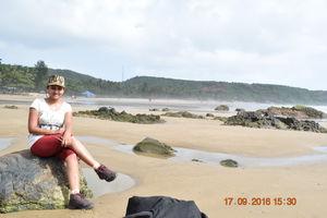 Beach trek at Gokarna,jog falls & Sahasralinga visit