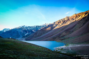 Slice of Heaven | The Moon Lake - Chandrataal Lake.