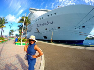 Cruising on the world's largest ship – 'Alluring' right?