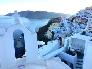 Where the doors to Heaven open: Santorini