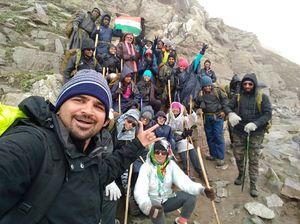 Hamta Pass Trek #SelfieWithAView #TripotoCommunity